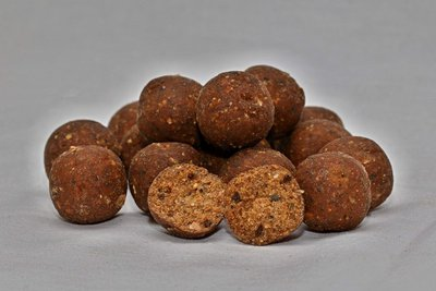 Boilies Fish Liver - Broskev, 20 mm